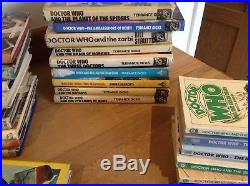 Dr Who Vintage Books Mixed Lot Bundle Rare Books Included