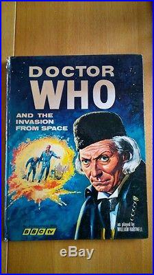 Dr Who and the Invasion from Space 1966. William Hartnell Rare Good condition