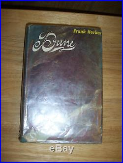 Dune 1st edition First state dust jacket first state book Frank Herbert