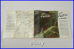 Dune Frank Herbert 1965 Book Club Hardcover Dust Jacket Book Club Edition Sci-Fi
