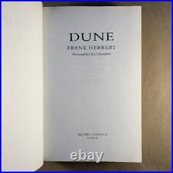 Dune New Illustrated Edition by Frank Herbert, John Schoenherr (First Edition)