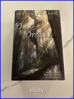 Dust Of Dreams #408 Subterranean Press Steven Erikson Malazan Book Of The Fallen