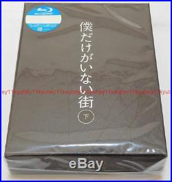 ERASED Boku Dake ga Inai Machi Blu-ray Box Vol. 2 Limited Edition CD Book Japan