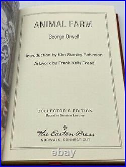 Easton Press ANIMAL FARM George Orwell Collectors Edition Leather Bound Book RAR