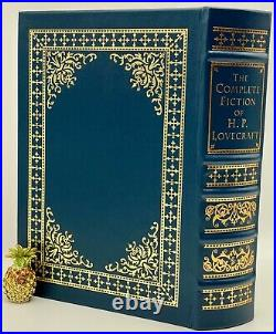 Easton Press COMPLETE FICTION HP LOVECRAFT Call of Cthulhu LEATHER BOUND Book OP