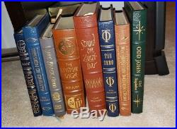 Easton Press Sci Fi Book Lot Brunner Bova Anderson and MORE MINT SALE