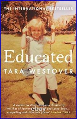 Educated The international bestselling memoir by Westover, Tara Book The Cheap