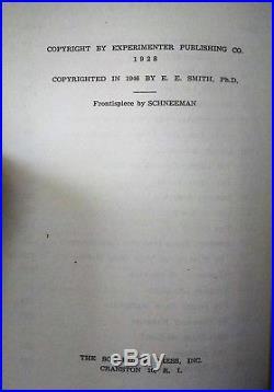 Edward E. Smith, Ph. D. THE SKYLARK OF SPACE The Buffalo Book Co, 1946 1st Ed