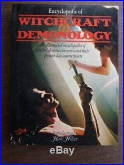 Encyclopaedia of Witchcraft and Demonology Book The Cheap Fast Free Post