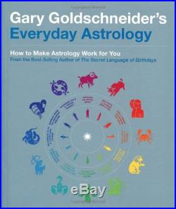 Everyday Astrology by Gary Goldschneider Paperback Book The Cheap Fast Free Post