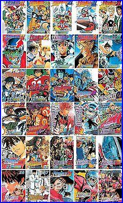 Eyeshield 21 Series English Manga Collection Books Books 1-30 BRAND NEW