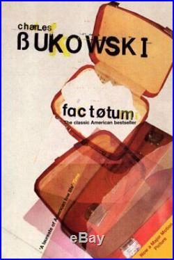 Factotum by Bukowski, Charles Paperback Book The Cheap Fast Free Post