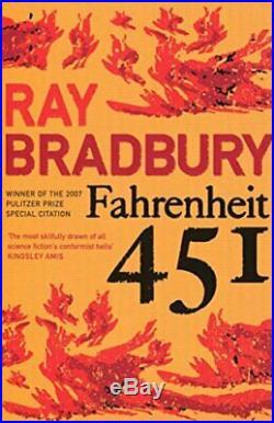 Fahrenheit 451 (Flamingo Modern Classics) by Bradbury, Ray Paperback Book The