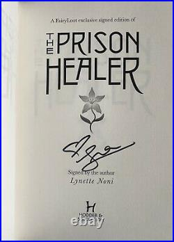 FairyLoot The Prison Healer Blood and Honey Waterstones Threadneedle LOT SIGNED