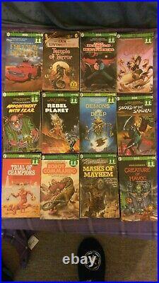 Fighting Fantasy Books 1 36 + 38 43 + Sorcery + More