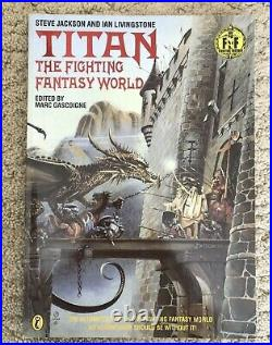 Fighting Fantasy Collection plus other books Inc singed copy Steve Jackson