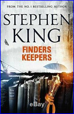 Finders Keepers by Stephen King Book The Cheap Fast Free Post