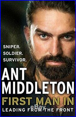 First Man In Leading from the Front by Middleton, Ant Book The Cheap Fast Free