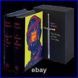 Folio Society Book of the New Sun Gene Wolfe Hardcover 1st Ed. 1st Print