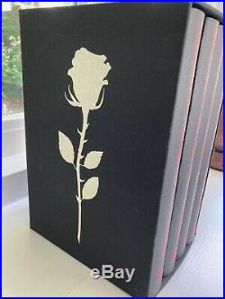 Folio Society Book of the New Sun limited signed by Gene Wolfe and Neil Gaiman
