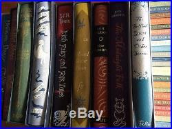 Folio Society Lot of Over 100 Books Horror Mystery Sci Fi Fairy Books