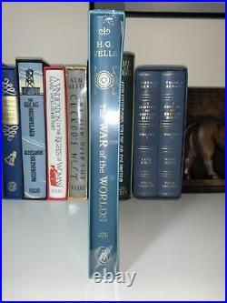 Folio Society The War Of The Worlds H. G. Wells Sci Fi Book New And Sealed