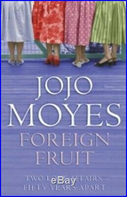 Foreign Fruit by Moyes, Jojo Paperback Book The Cheap Fast Free Post