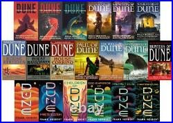 Frank Herbert DUNE Universe Collection Paperback Book Series 1-19 Brand New
