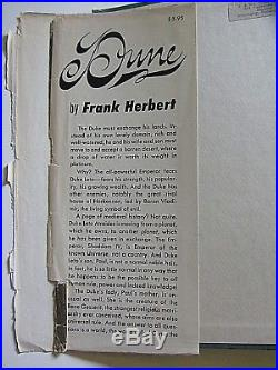 Frank Herbert's Dune Book True First Edition 2nd Printing Green Cloth 5077