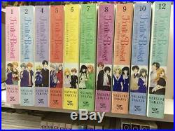 Fruits Basket Collector's Edition, Vol 1,2,4,5,6,7,8,9,10,12 Manga (10 Books)