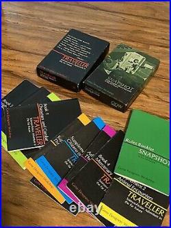 GDW Traveller 1st Edi 1979 & Snapshot RPG Game 11 Books & Maps
