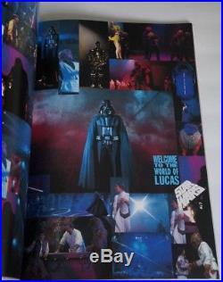 GEORGE LUCAS SUPER LIVE ADVENTURE Authentic Original 1993 Tour Guide Book Japan