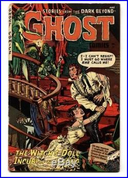 GHOST #11 Last issue comic book-FICTION HOUSE-1954 Pre-Code horror