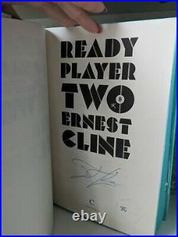 GOLDSBORO No. 86/1000 Ready Player One + Two Set 1st Edition by Ernest Cline