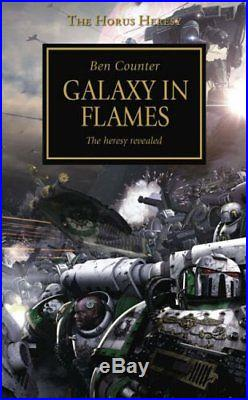 Galaxy in Flames (The Horus Heresy) by Counter, Ben Paperback Book The Cheap