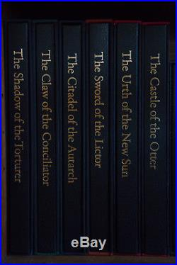 Gene Wolfe Book Of The New Sun Six Vol Set Centipede Press, 4 Signed, 2 Unsigned
