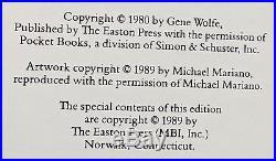 Gene Wolfe, New Sun Books 1-3 CLAW, SWORD, SHADOW Easton Press Sci-Fi
