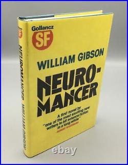 Gibson, William Neuromancer (2nd print 1st edition 1984 Gollancz hardback) Ha