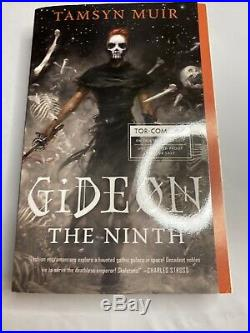 Gideon the Ninth Softcover by Tamsyn Muir Uncorrected Proof ARC Book 2019