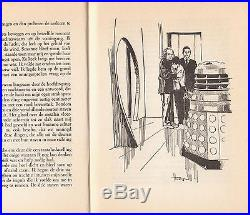 Giga-rare Dutch 1965 hardback of Doctor Who and the Daleks. No dj. VGC