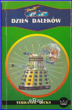 Giga-rare Polish Doctor Who and the Day of the Daleks