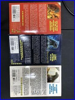 Godzilla Marc Cerasini 3 Book Set
