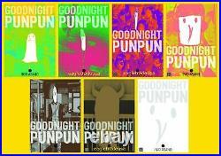 Goodnight PunPun EXPLICIT Series Set English Manga Books 1-7 BRAND NEW PAPERBACK