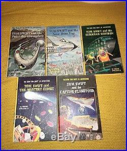 Great Lot Of Tom Swift Jr Books! Titles 1-30 Victor Appleton II HB PC Sci-fi