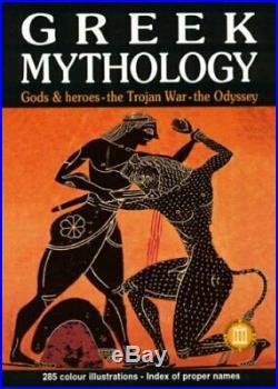 Greek Mythology by K. Servi Paperback Book The Cheap Fast Free Post