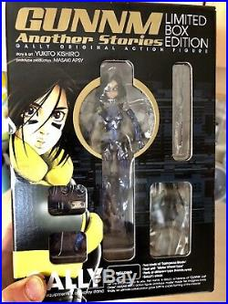 Gunnm Gally Battle Angel Alita Limited Figure & Book Yukito Kishiro Manga Anime