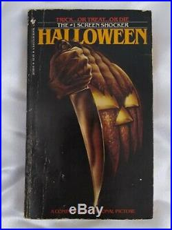 HALLOWEEN by Curtis Richards A Bantam Book Horror / Michael Myers 1982