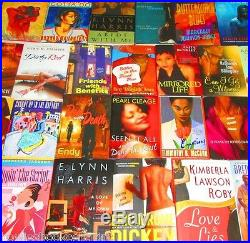 HARDCOVER African American FICTION/ROMANCE Book Lot INSTANT COLLECTION
