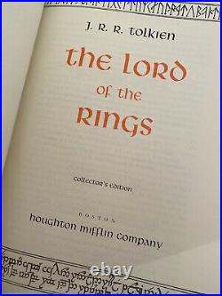 HOBBIT & Collectors Edition LORD OF THE RINGS BOOK OF WESTMARCH Mint Condition