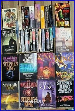 HUGE Stephen King HC/PB Book Collection Almost Full Bibliography Lot of 78